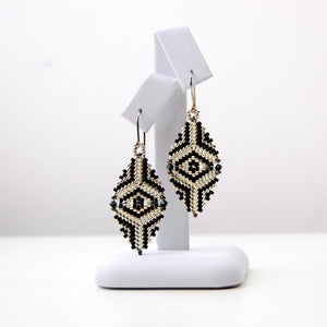 Stushlery Mini Delica Earrings