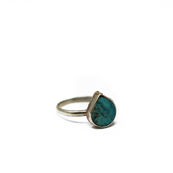 Boho Chrysocolla Ring