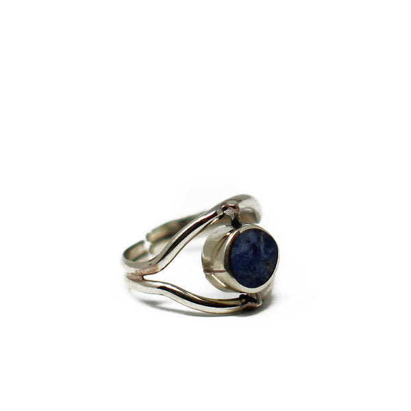 Eye Lapis Lazulli Ring