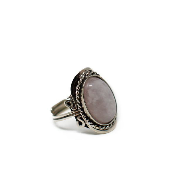Gipsy Rose Quartz Ring