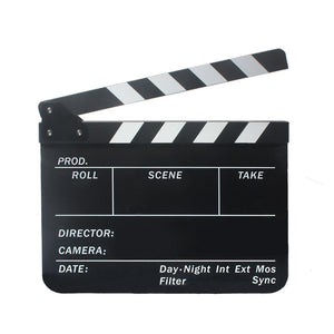 Director TV Movie Film Action Slate Clap