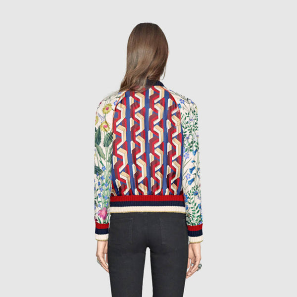 Women's  Stylish Floral Printed Jacket