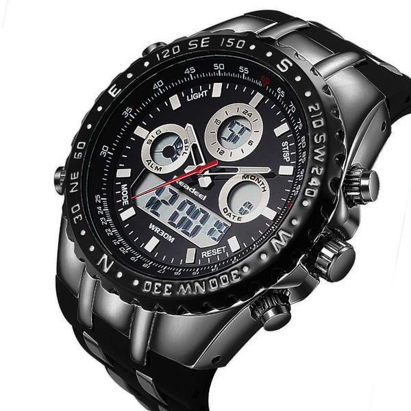 Men Military Waterproof LED Digital Watches