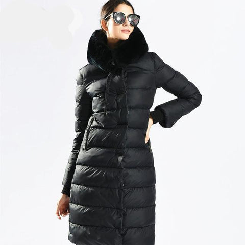 Womens Winter Down  Coats Medium Length