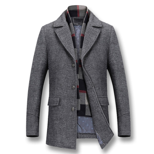 Men Winter Thick Cotton Wool Jackets