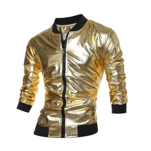 Gold Jacket  Mens Bomber Jacket