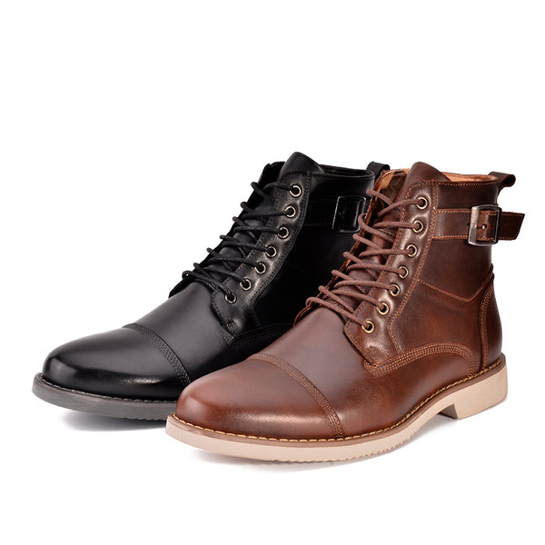 Men Martin Boots Leather