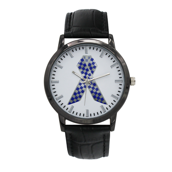 Police Remembrance Ribbon Watch