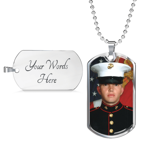 Personalized Luxury Dog Tag - add your own photo