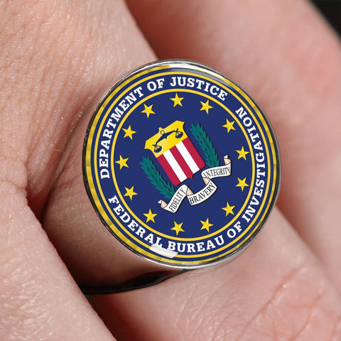 FBI signet rings