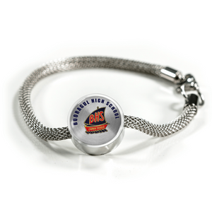 Booragul High School Stainless Steel Charm
