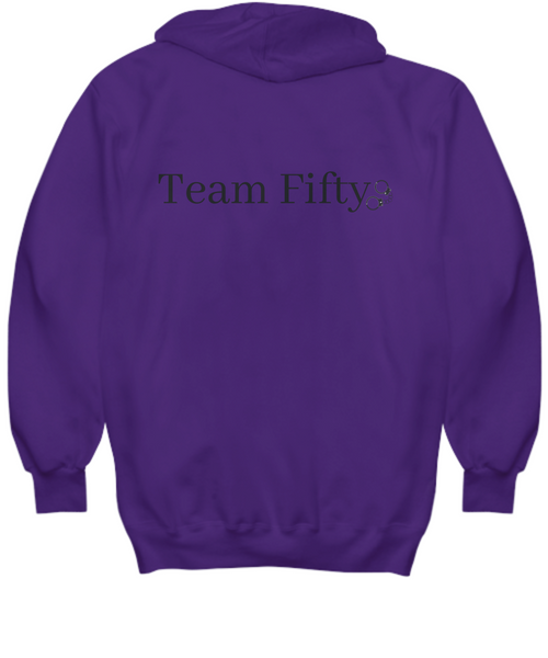 Team Fifty - hoodie - gift idea