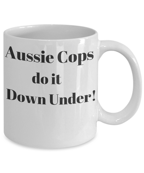 Aussie Cops - Do it Down Under - Mug