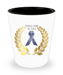 NPRD 2019 Shot glass