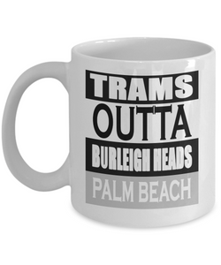 No trams mug