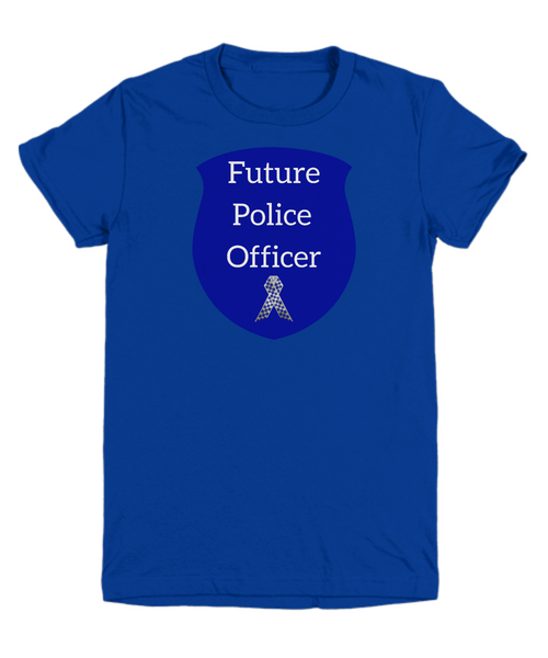 Future Police Officer - child's T-Shirt
