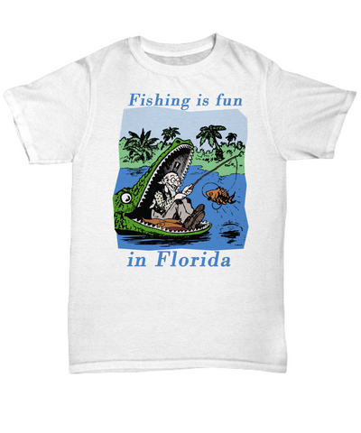 Fishing is fun in Florida T-Shirt