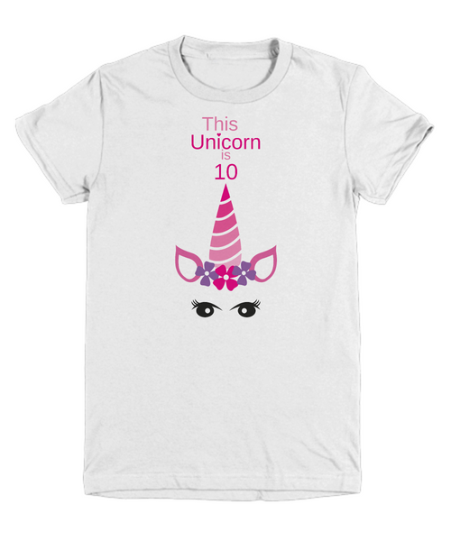 This Unicorn is 10 birthday gift idea