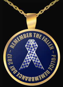 Remember the Fallen 2017 Gold Plated Necklace