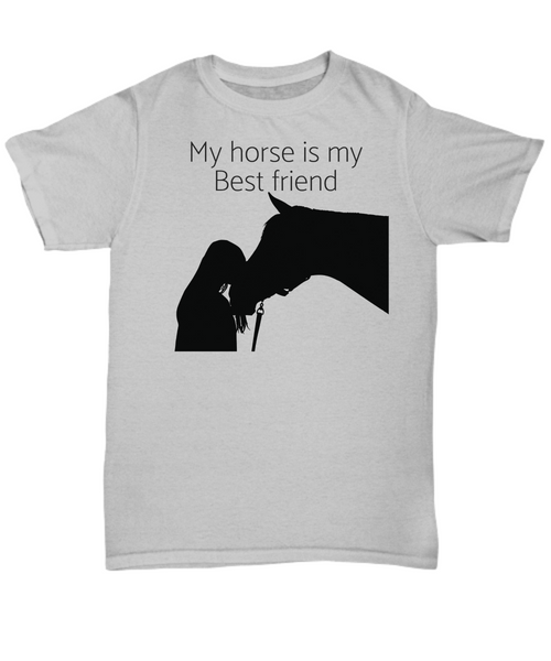 My Horse is my Best friend - t-shirt gift idea
