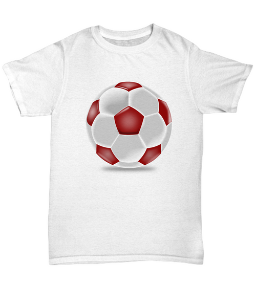 Footy - red and white