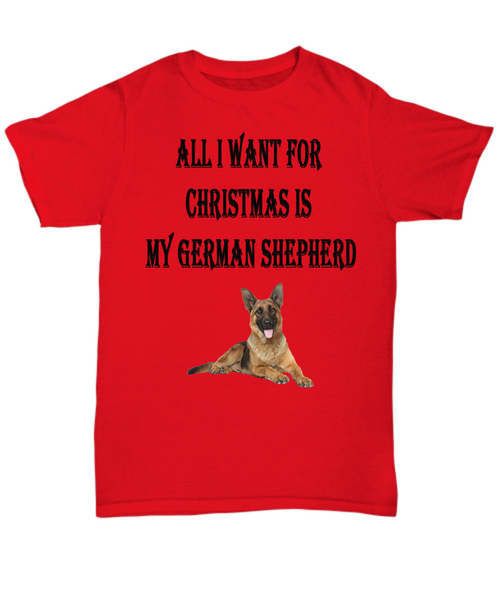 All I want for Christmas is my German Shepherd