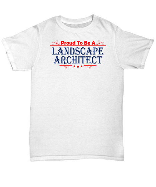 Proud to be a landscape architect