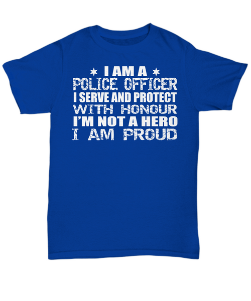 Police Officer Proud