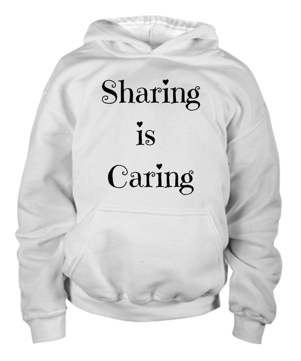 Sharing is Caring Children's Hoodie