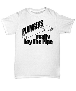Plumbers really lay The pipe