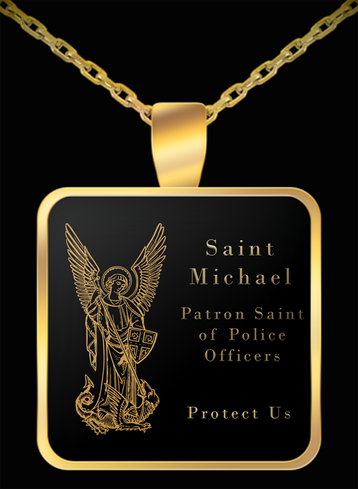 Saint Michael Patron Saint of Police Officers