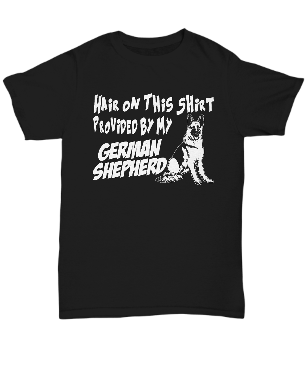 Hair on this shirt provided by my German Shepherd