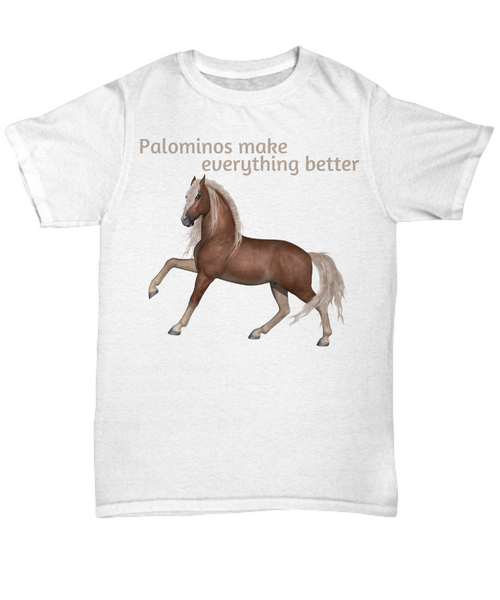 Palominos make everything better gift idea