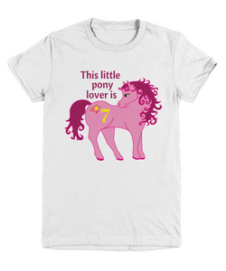 This little pony is 7 - Birthday tee