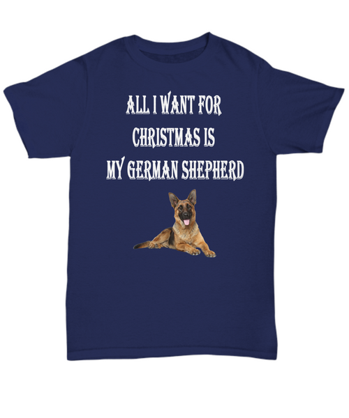 All I want for Christmas is my German Shepherd blk