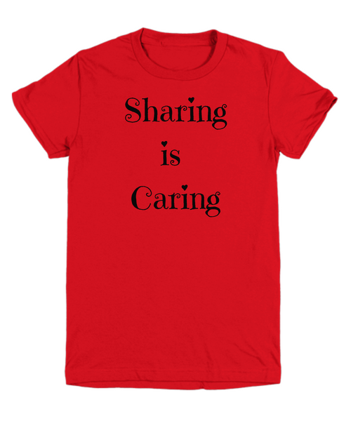 Sharing is Caring - children's T-Shirt