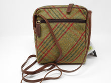 Dolly Handbag in Green Tweed