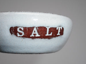 Small Salt Dish in White