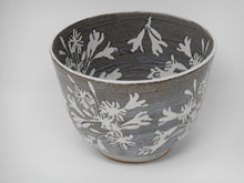 Tall sided Bowl 13cm Agapanthus