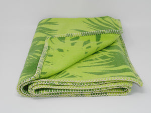 Green Palm Baby/Small Blanket