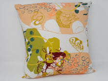Hand painted Double sided Linen Cushion