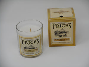 Egyptian Cotton Candle - Heritage Range