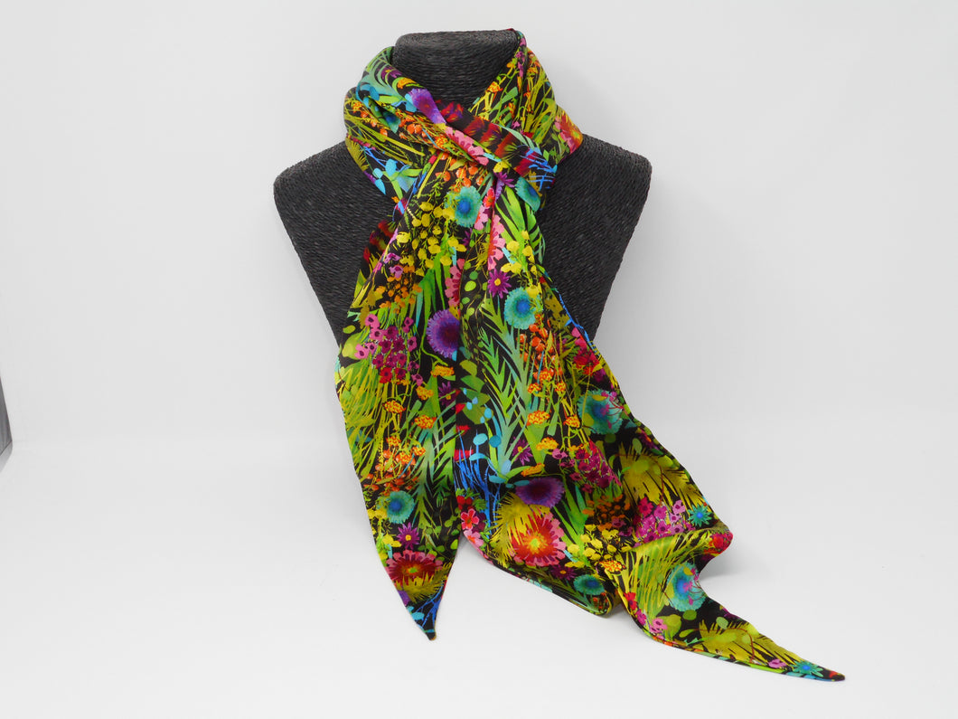 Silk Scarf - Summer Tresco
