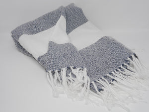 Hammam Throw in Navy