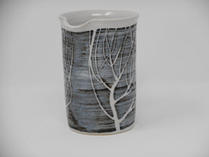 Cylinder Jug small Winter Tree