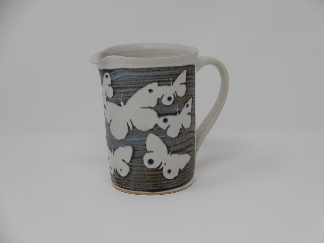 Cylinder Jug small Butterfly