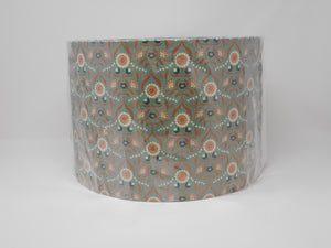30cm Shade Green & Copper floral