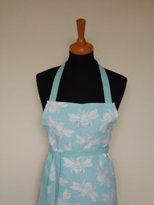 Bumble Bee Apron in Blue