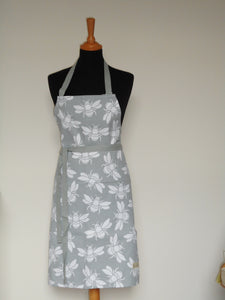 Bumble Bee Apron in Grey