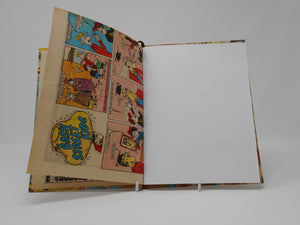 Hand stitched notebook